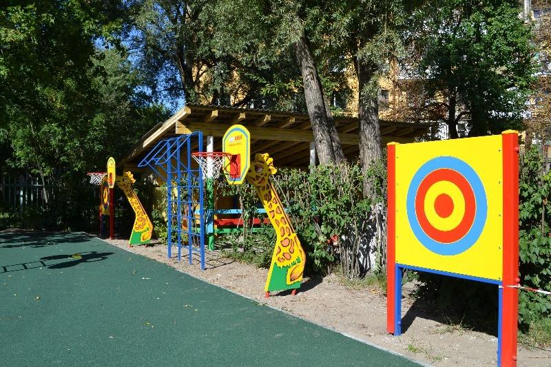 Проект спортивной площадки в детском саду своими руками