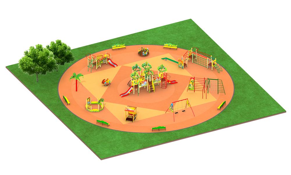 """Детские площадки в стиле """"Африка"""""""