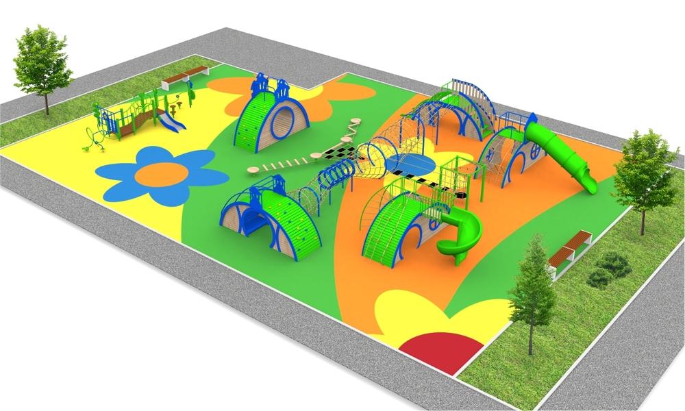 """Детские площадки в стиле """"Fantasy"""""""