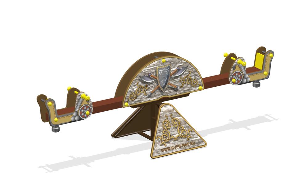 """Качели-балансир МК-8 (026) """"Старый город"""""""