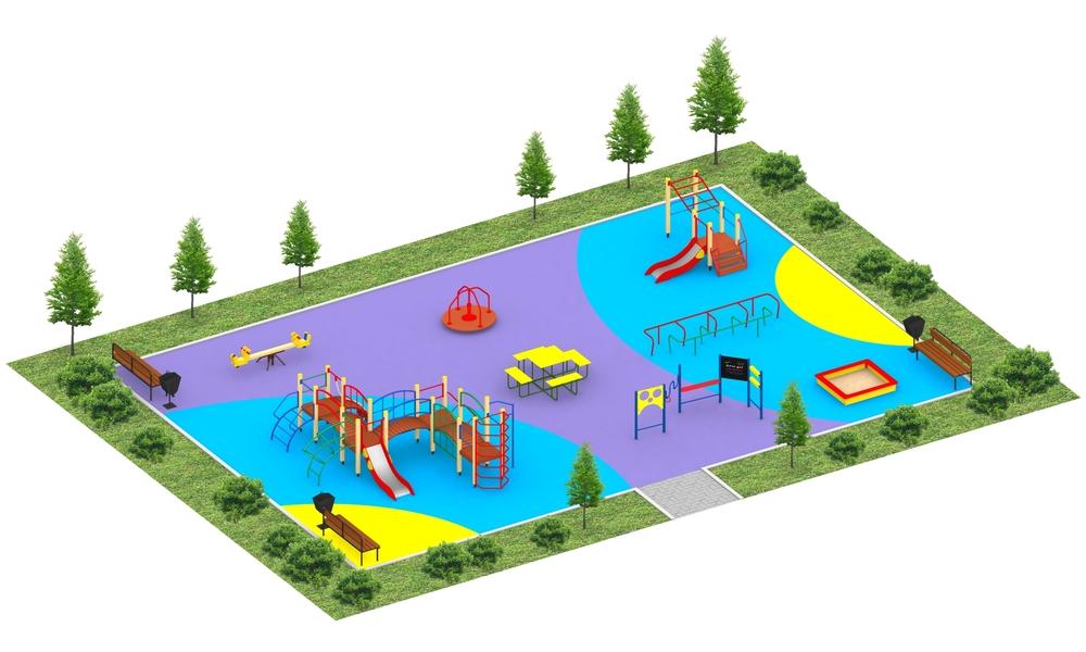 """Детские площадки в стиле """"Эконом"""""""