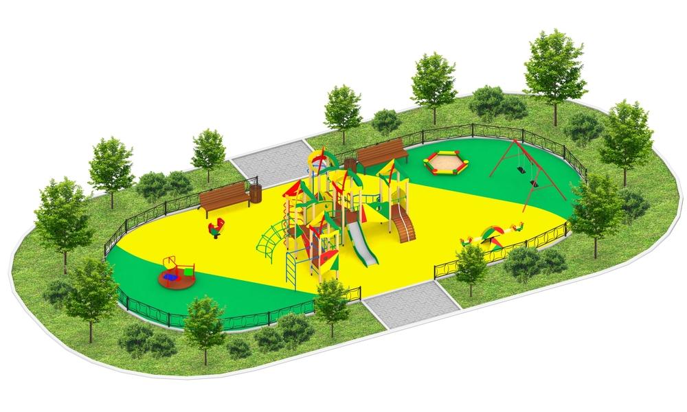 """Детские площадки в стиле """"Сити C"""""""