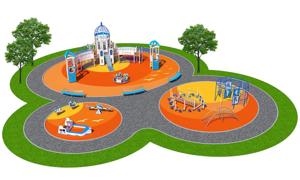 """Детские площадки в стиле """"Санторини"""""""
