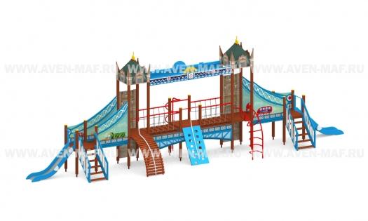 """Детский городок Г-102 """"Тауэрский мост"""""""