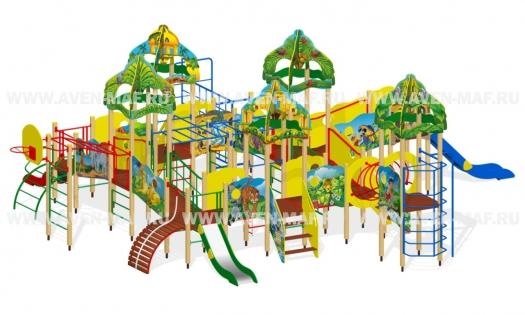 Детские площадки Производитель Авен