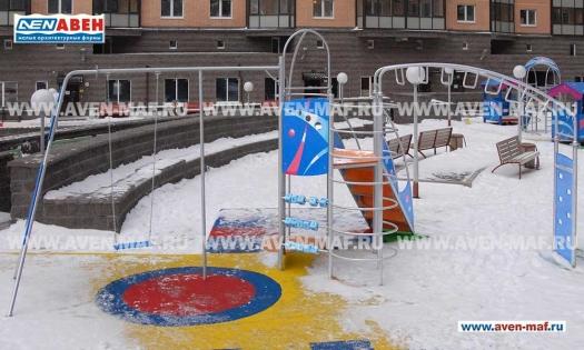Детский уличный игровой комплекс Г-2005 фото