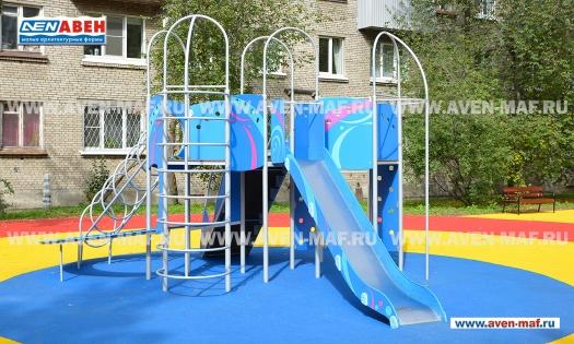 Детский уличный игровой комплекс Г-2007 фото