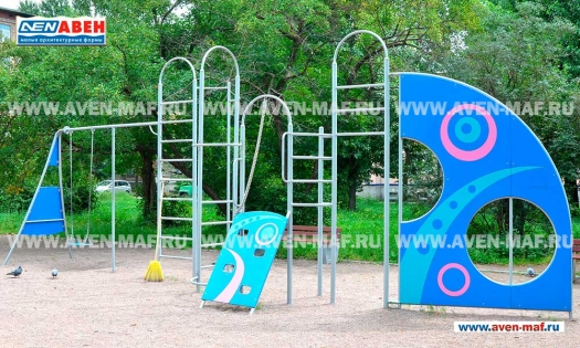 Детский уличный игровой комплекс Г-2009 фото