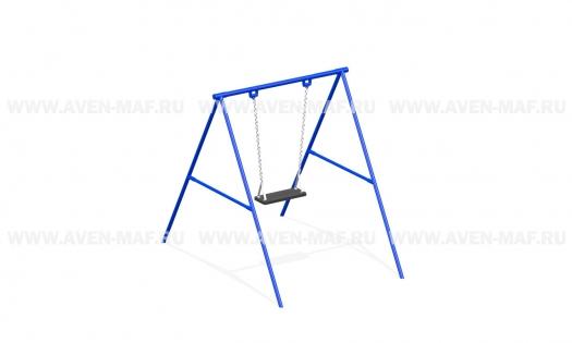 Качели маятниковые на цепях К-1 синие