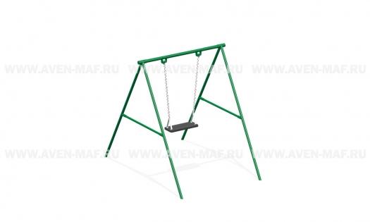 Качели маятниковые на цепях К-1 зеленые