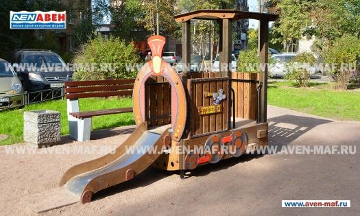 """Игровой комплекс для детской площадки МГМ-315 """""""