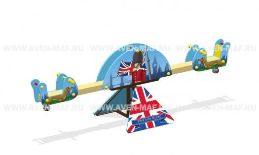 """Качели-балансир МК-8 (070) """"Лондон"""" Флаг"""