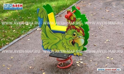 "Качалка на пружине МК-21 (152) ""Попугай"" фото"