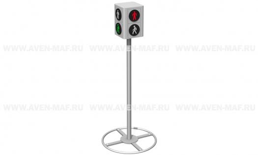 2-х секционный светофор МП-2