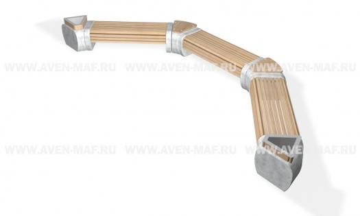 Скамейка С-188 вариант 1