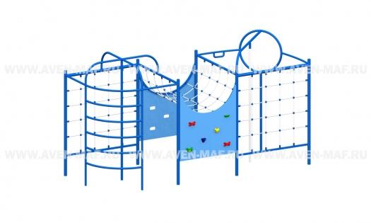 Спортивный комплекс Т-183 синий