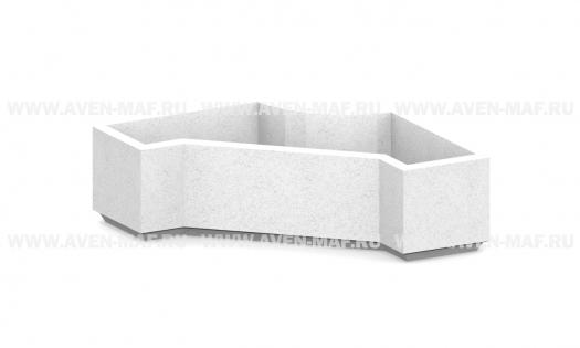 Вазон для цветов бетонный В-68