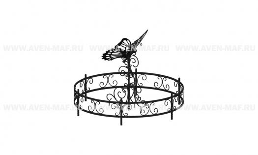 """Вазон-комплекс для цветов ВК-172 """"Бабочка"""""""