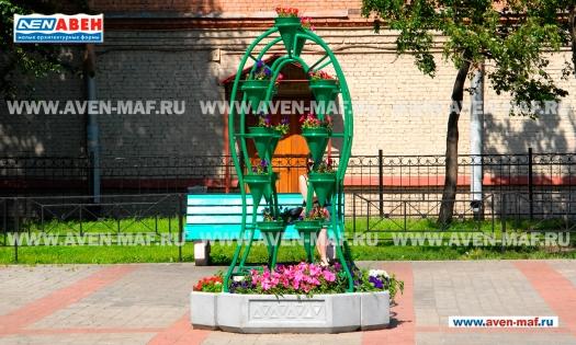 Вазон - комплекс для цветов ВК-115 фото
