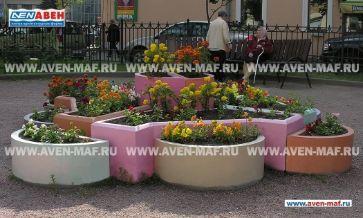 Вазон-комплекс для цветов ВК-18 фото