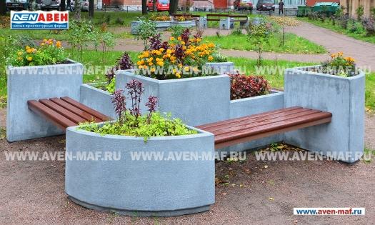 Вазон-комплекс для цветов ВК-5 фото