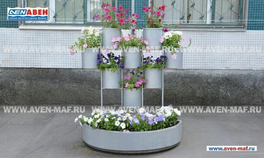 Вазон - комплекс для цветов ВК-98/1 фото