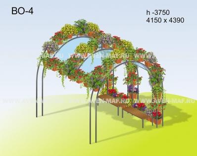 Вертикальное озеленение ВО-4
