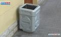 Бетонная урна для мусора У-25 фото