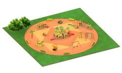 Детские площадки серии Африка