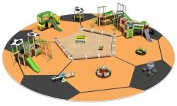 Детские площадки серии Футбол