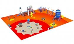 Сказочные детские площадки серии Космос