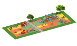 Детские площадки серии Лондон