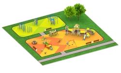 Детские площадки серии Мексика