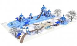 Новогодние детские площадки