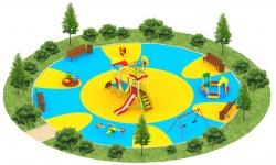 Детские площадки серии Сити A