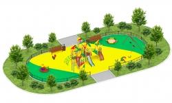 Детские площадки серии Сити C