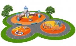 Детские площадки серии Санторини