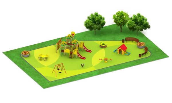 Детские площадки серии Бизнес