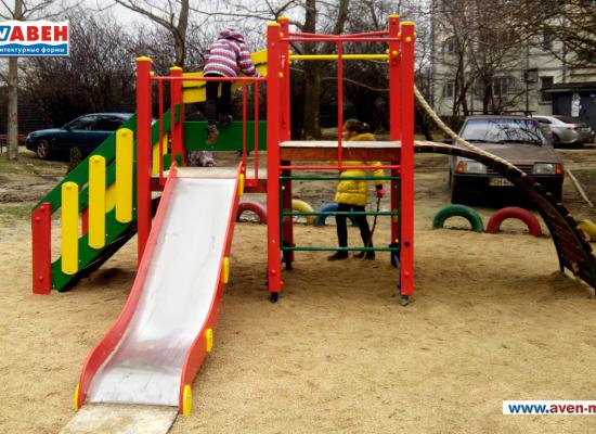 Детские площадки Авен установлены в Севастополе