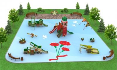Детские площадки серии День Победы
