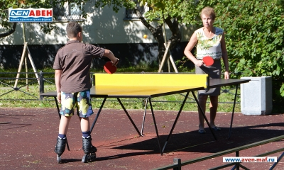 Фото уличного теннисного стола И-4
