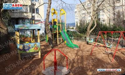 Детская площадка АВЕН на Октябрьской улице