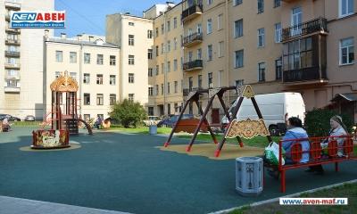 Фото детской площадки на Лиговском 173