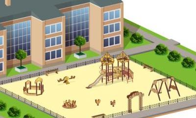 Детские площадки серии Русич