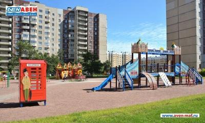 Фото детской площадки на Стародеревенской д.6