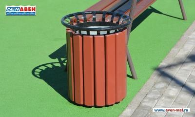 Металлическая урна для мусора У-206