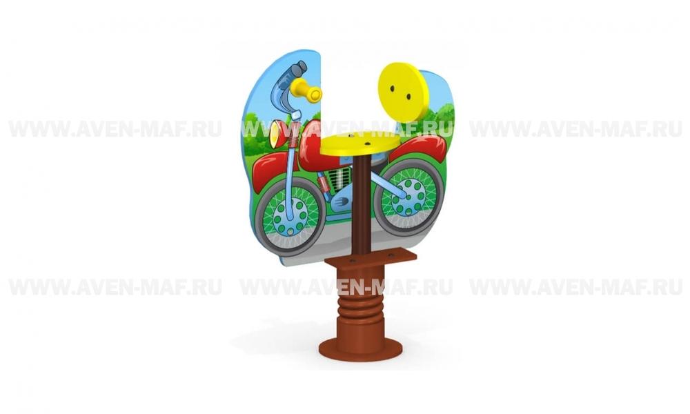 "Качалка на пружине МК-21н (072) ""Мотоцикл"""