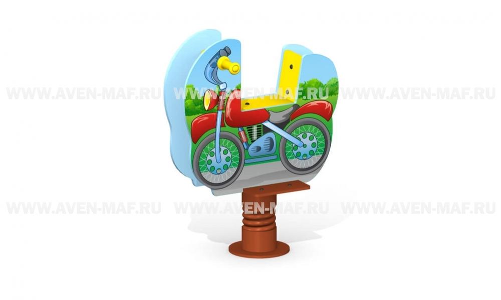 """Качалка на пружине МК-21 (072) """"Мотоцикл"""""""