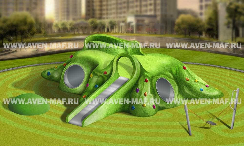 Игровой комплекс Холм (геопластика) ГХ-3