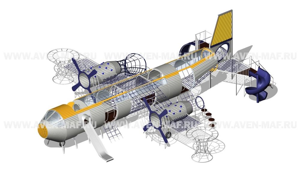 """Игровой комплекс ГН-2310/1 """"Самолет"""""""